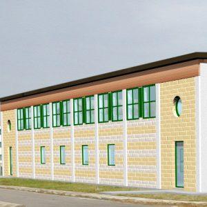 completamento del bocciodromo presso centro sportivo comunale a Ca' Savio