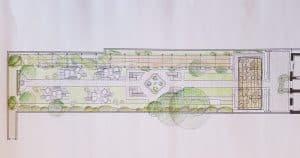 progetto di massima giardino storico